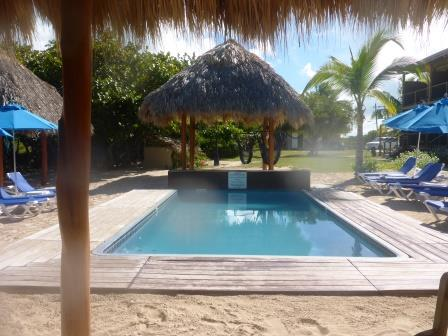 Only pool on Anegada