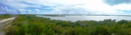 Panorama of interior Anegada