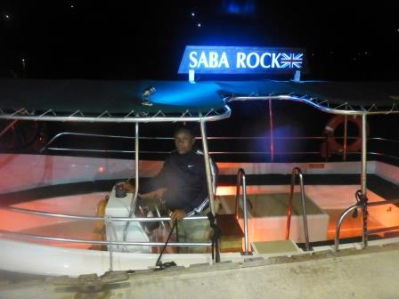 Saba Rock ferry