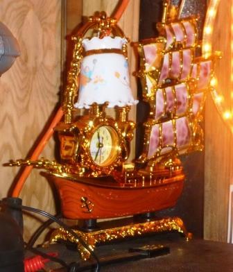 Tacky pirate ship