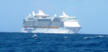 Courteous cruise ship