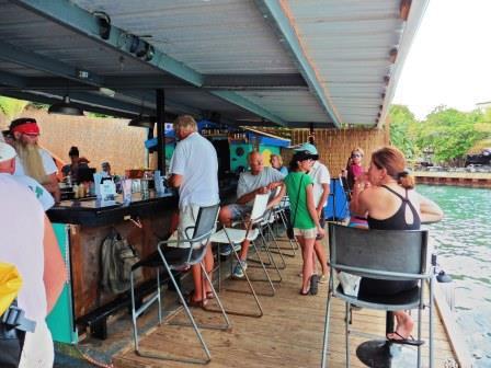 Dinghy dock bar and restaurant