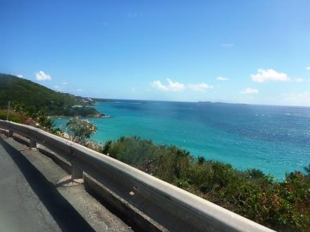 Driving along the coast by mistake