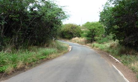 Main road continues