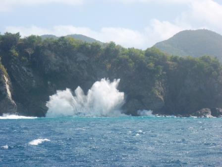 Rough seas today