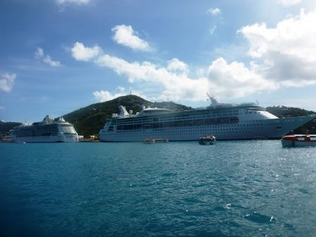 Two cruise ship day