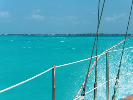 Approaching Providenciales