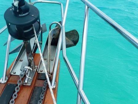 Bent anchor