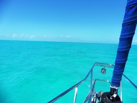 Crossing the Caicos banks