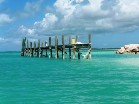 Dock to nowhere, Rum Cay