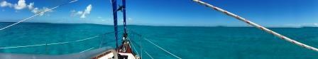 Panorama of Mayaguana anchorage