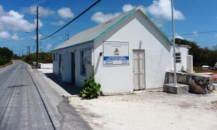Rum Cay Government building