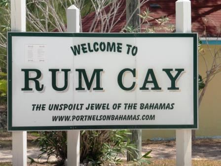 Rum Cay welcome