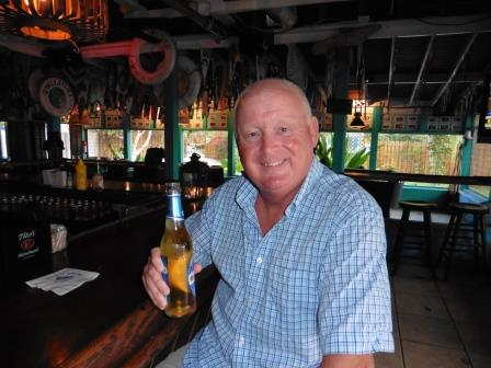 Beer at Staniel Cay