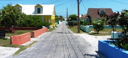 Back streets of Warderick Wells 2