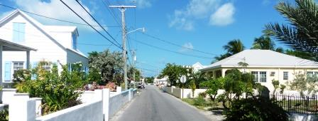 Back streets of Warderick Wells