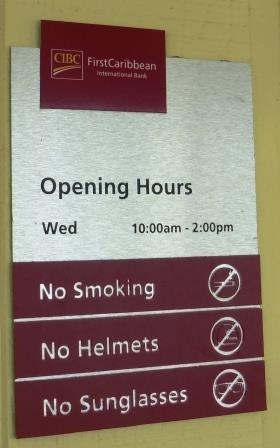 Banking hours