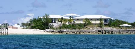 House on end of Great Guana Cay
