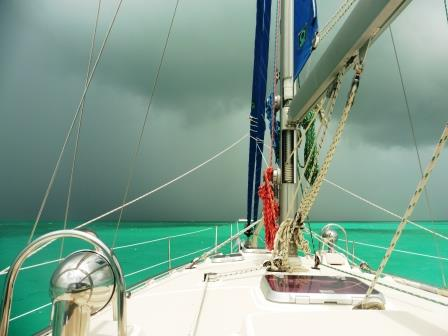 Stormy conditions