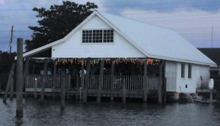 Waterfront local bar