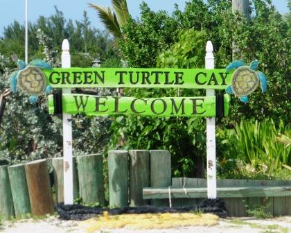 Welcome Green Turtle Cay