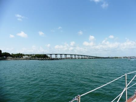Into Fort Pierce inlet 2
