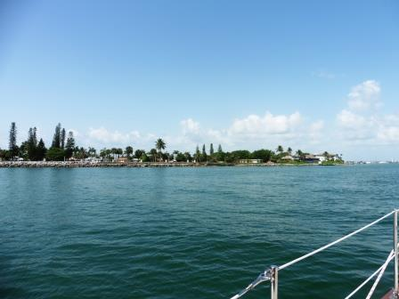 Into Fort Pierce inlet