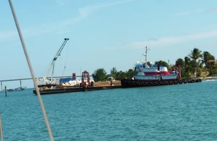 Tug that run aground