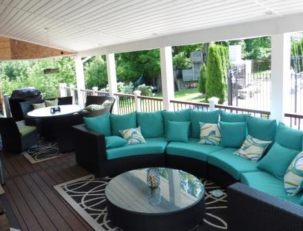Fantastic deck furniture