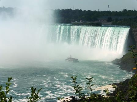Hornblower in the falls