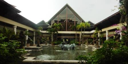 Loews Pacific landscaping