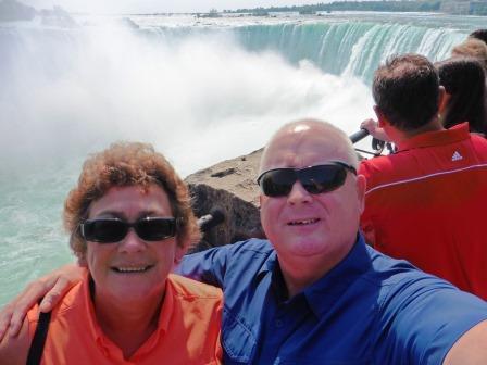 Niagara selfie