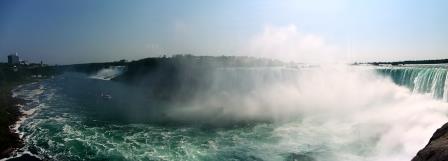 Panaroma of the falls