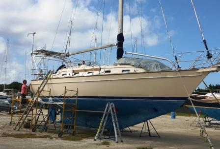 Polishing the hull