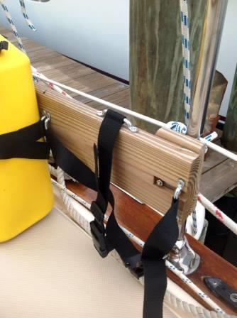 Rail straps