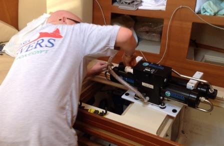 Watermaker repairs