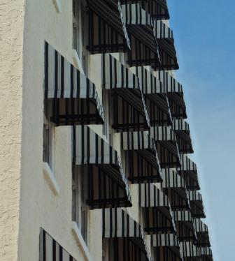 Artistic shot of La Concha hotel