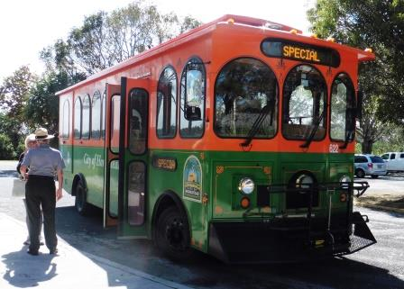 Everglades Trolley bus