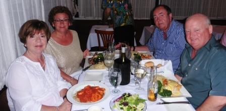 Final dinner together