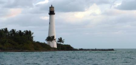Lighthouse on Biscayne Key