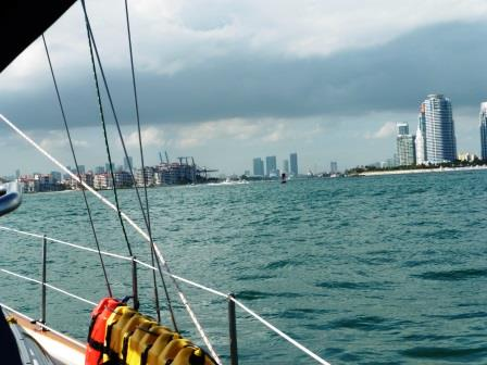 Turning into Government Cut Miami