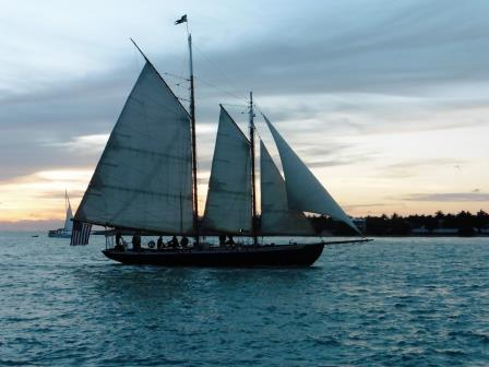Hindu returning from her sunset cruise