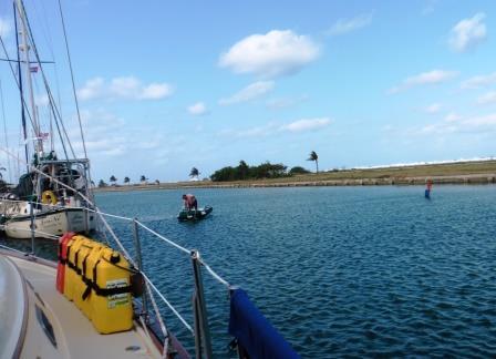 Line ashore