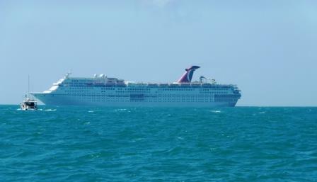 Nearing Key West