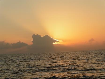 Sunrise at sea Marathon