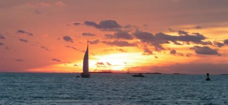 Sunset at MS 3