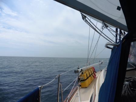 Flat calm in the Yucatan Strait
