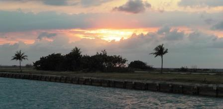 Hemingway sunset