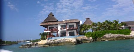Nice house on cut through to marina