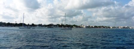 Cozumel anchorage